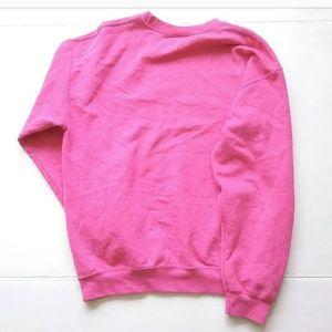 Spelman College Tops - Spelman College Hot Pink Sweatshirt Atlanta